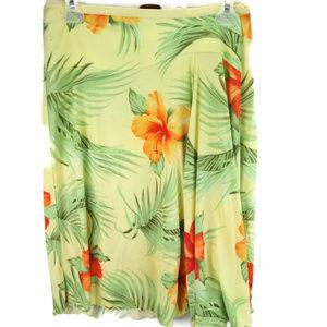 TOMMY Bahama 100% Silk Skirt